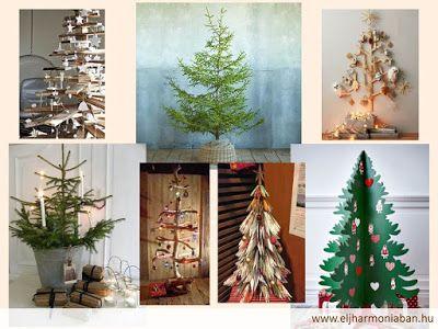 karácsonyfa, műfenyő, alternatív karácsonyfa, körenyezetbarát karácsonyfa