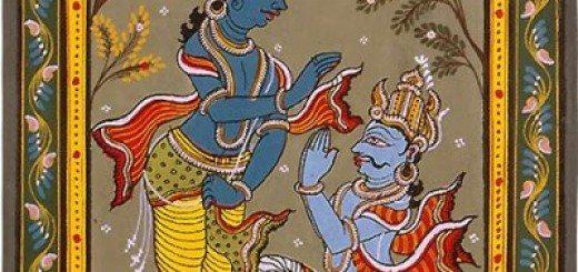 Krishna-Arjuna-400x500-a0ee93705577bae08a2aca9e483f8997a84aa286