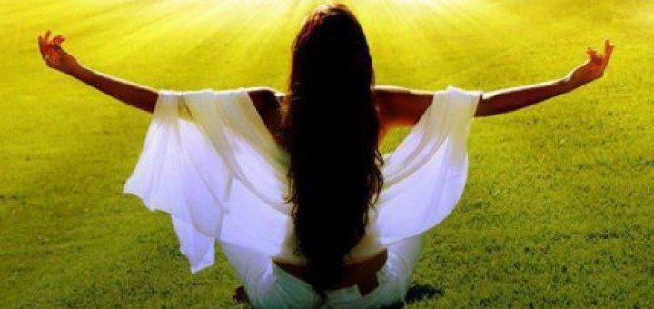napsütés yogini meditáció